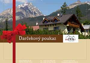 Privát IVA Darčekový poukaz